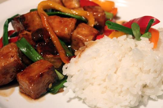 General Tso's Tofu. Photo by The Hungry Vegan