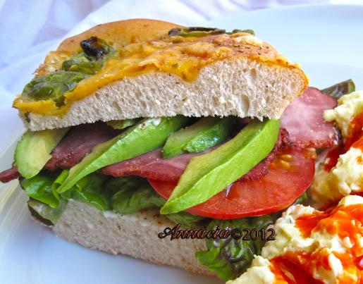 Tex Mex BLT. Photo by Annacia