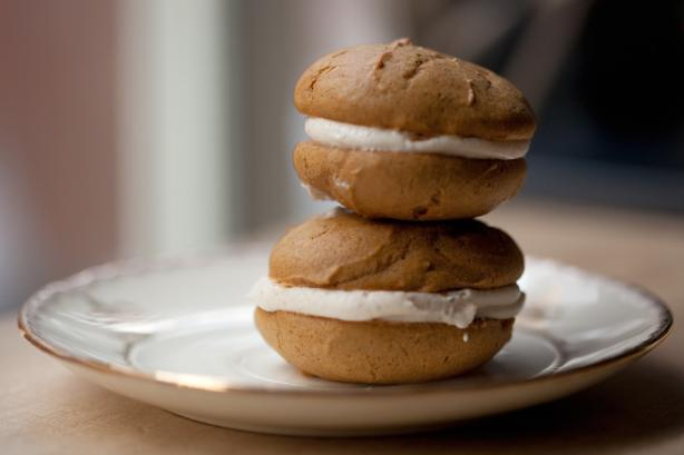 Pumpkin Spice Whoopie Pies. Photo by my3peas