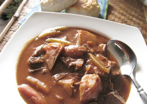 Easy Italian Beef Stew (Crock Pot). Photo by Caroline Cooks