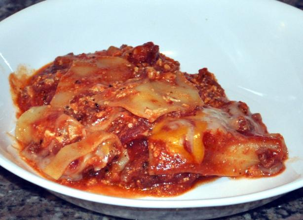 One Skillet Lasagna. Photo by KateL