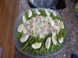 Shrimp Salad With Spring Pea Mix
