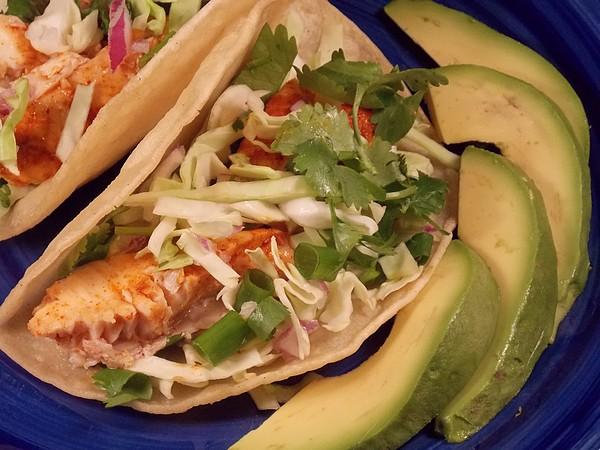 California Fish Tacos Ww. Photo by Lavender Lynn