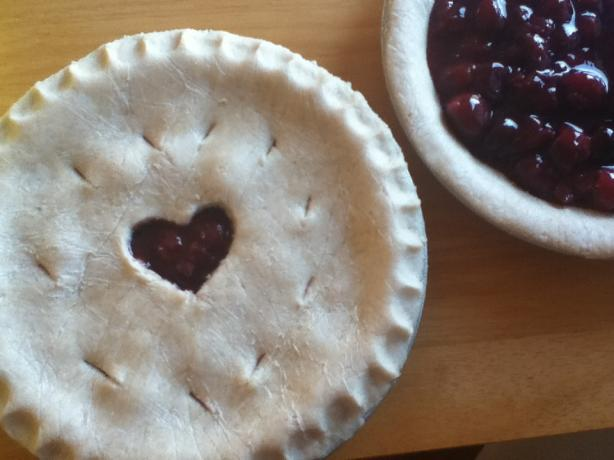 Fresh Cherry Balsamic Pie. Photo by dandelionleaf