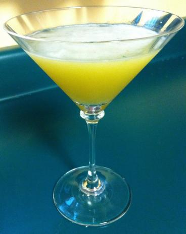 Peach Basil Martini. Photo by HisPixie