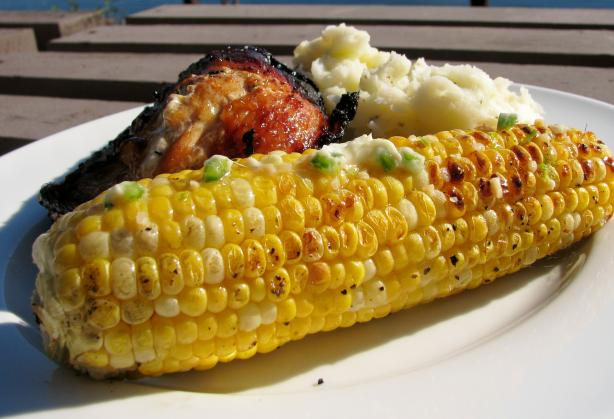 Grilled Jalapeno Lime Corn on the Cob. Photo by lazyme