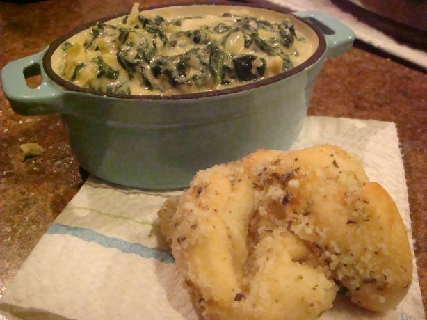 Almost-Famous Spinach-Artichoke Dip. Photo by Barenaked Chef