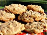 Toffee-Almond Oatmeal Cookies
