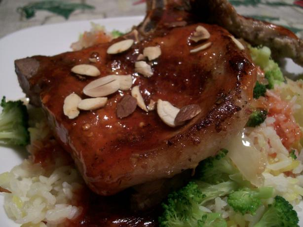 Easy Broccoli & Pork Chop Dinner. Photo by Crafty Lady 13