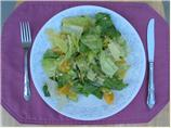 Nat&#39;s Romaine, Oranges and Avocado Salad