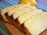 Lemon Glazed Pound Cake -- Loaf Size!