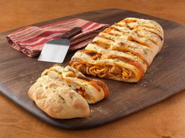 Chef Boyardee® Braided Spaghetti Loaf. Photo by Chef Boyardee®