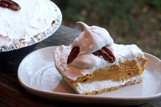Double Layer Pumpkin Pie. Photo by Mini Chef Ty