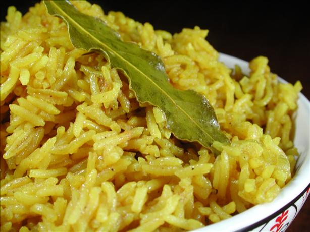 Turmeric Rice. Photo by Chef floWer