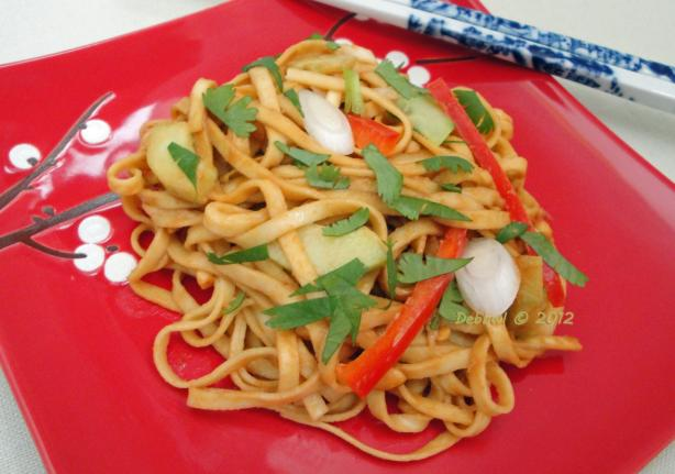 Peanut Noodle Salad (America's Test Kitchen). Photo by Debbwl