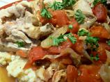 Wine & Tomato Braised Chicken -- Crock Pot