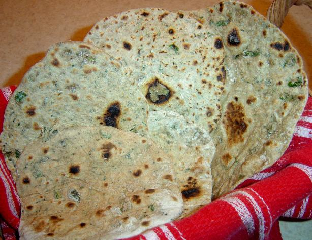 Chapati (Indian Flat Bread). Photo by :(