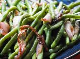 Haricots Verts With Carmelized Shallots