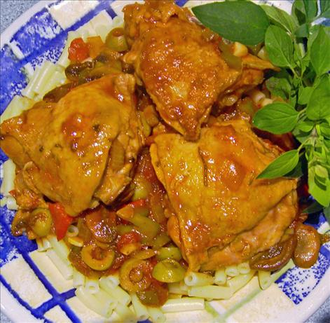 Chicken Cacciatore. Photo by JustJanS