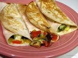 Grilled Vegetable Tortillas