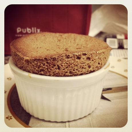 Easy Chocolate Soufflé. Photo by deinemuse