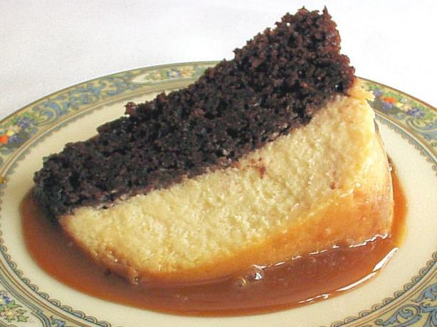 Chocolate Flan Cake. Photo by Kathy at Food.com