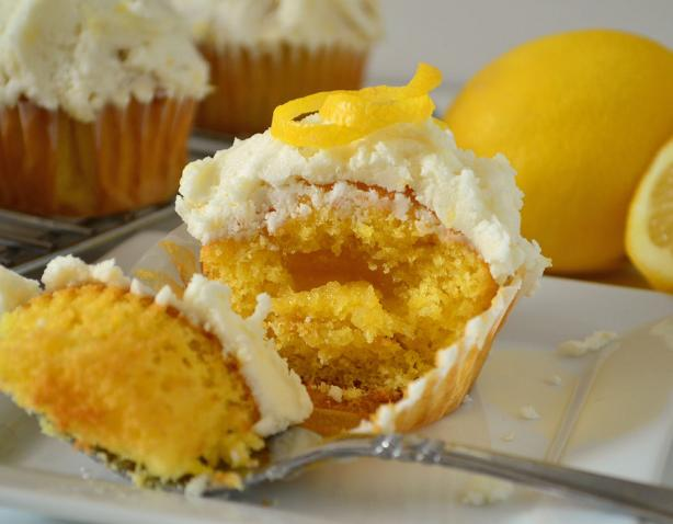 Triple Lemon Cupcakes. Photo by Marg (CaymanDesigns)