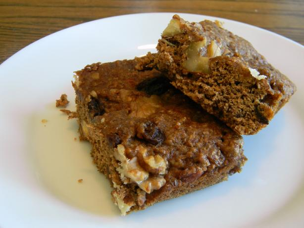 Molasses Hermit Bars