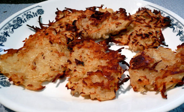 Baked Latkes. Photo by Mikekey