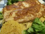 Mustard Glazed Fish