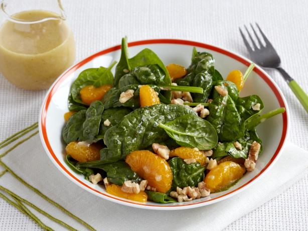 Spinach Salad With Mandarin Oranges and Walnuts. Photo by TARGET® Recipes