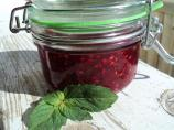 Nif's Quick Raspberry Mint Jam
