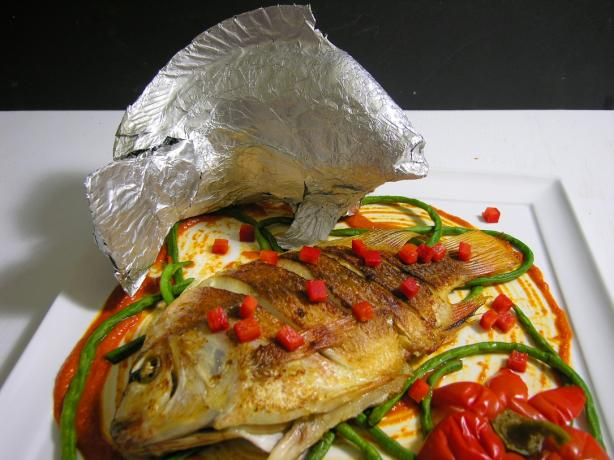 Baked Fresh Whole Tilapia #RSC. Photo by dcarch7777