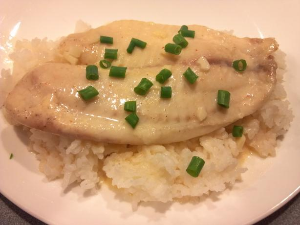 Lemon Cream Tilapia #RSC. Photo by MRSLJR
