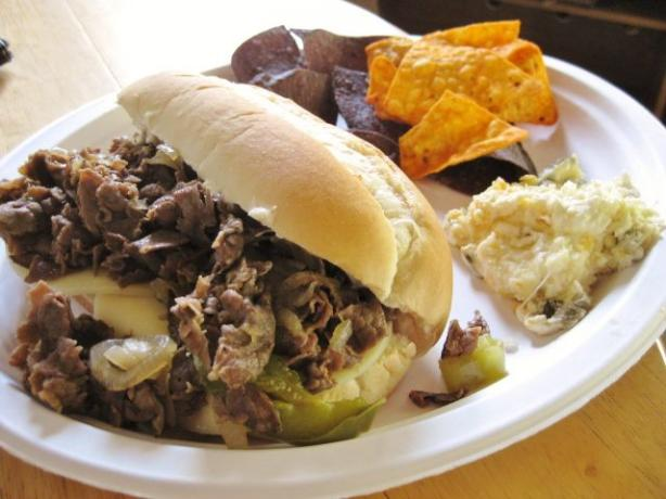 Bama Steak Sandwiches. Photo by Chef Petunia
