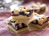 Buttery Triple Berry Bars