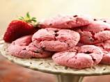 Strawberry Angel Cookies