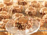 Chocolate Caramel Thumbprint Cookies