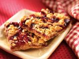 Chewy Red Raspberry Bars