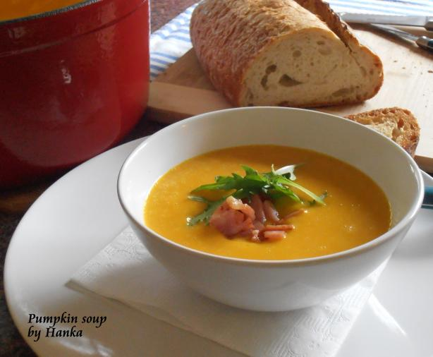 Pumpkin Soup. Photo by Hanka