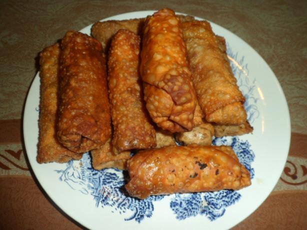 Pork and Shrimp Egg Rolls. Photo by FabioH