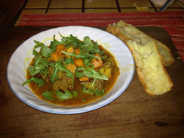 Crock Pot Gluten Free Moroccan Goat Stew. Photo by JanaBird