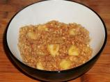 Apple Cider Cinnamon Oatmeal
