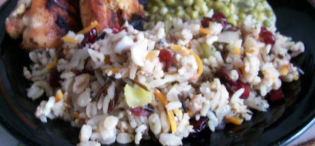 Wild Rice with Cranberries & Pecans. Photo by lauralie41