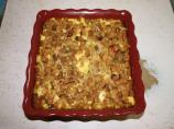 Pumpkin and Stuffing Casserole