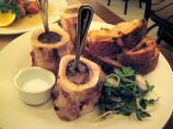 Roasted Bone Marrow With Caramelized White Turnip