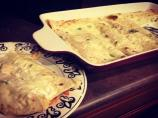 Roasted Shrimp Enchiladas With Jalapeno Cream Sauce
