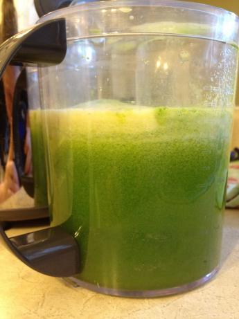 Mean Green Juice (For Juicer). Photo by Mbranaman