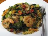 Rotini Primavera With Shrimp