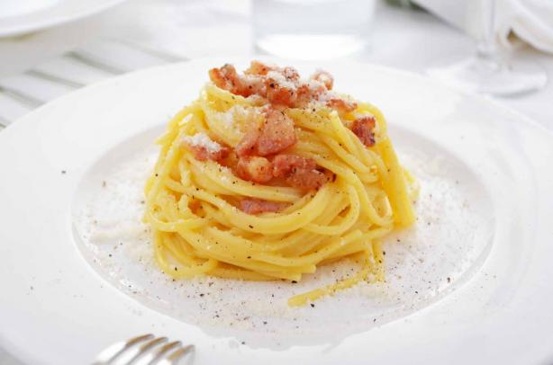 Spaghetti Carbonara. Photo by lacucinaimperfetta